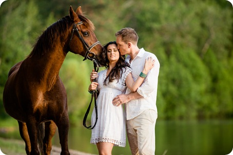 Vernon-engagement-photographer_lake-horse_54_by-Kevin-Trowbridge
