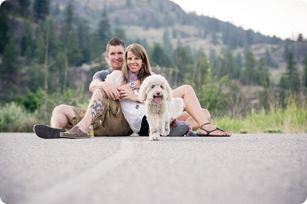 Okanagan-Lake-engagement-session_fun-couple-field-dog-wine19_by-Kevin-Trowbridge