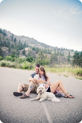 Okanagan-Lake-engagement-session_fun-couple-field-dog-wine20_by-Kevin-Trowbridge