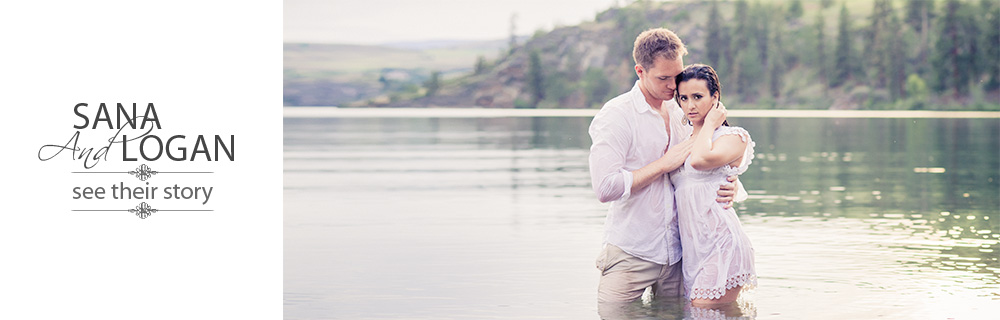 Lake Okanagan engagement session