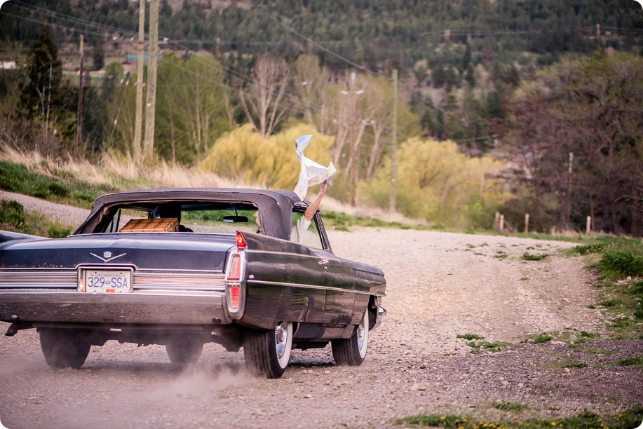 convertible-Cadillac_engagement-portraits_travel-cherry-orchard_Okanagan_136_by-Kevin-Trowbridge