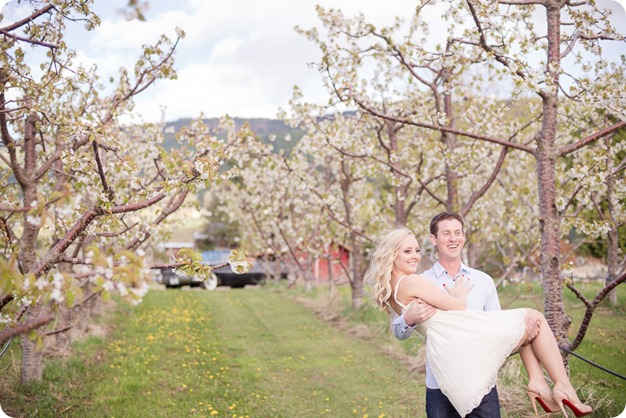 convertible-Cadillac_engagement-portraits_travel-cherry-orchard_Okanagan_35_by-Kevin-Trowbridge