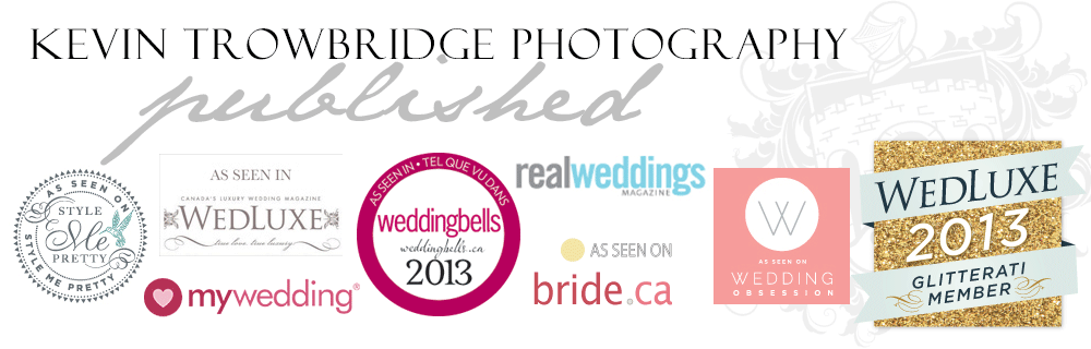 Published Wedding Photographer - Vancouver, Calgary & Kelowna Weddings