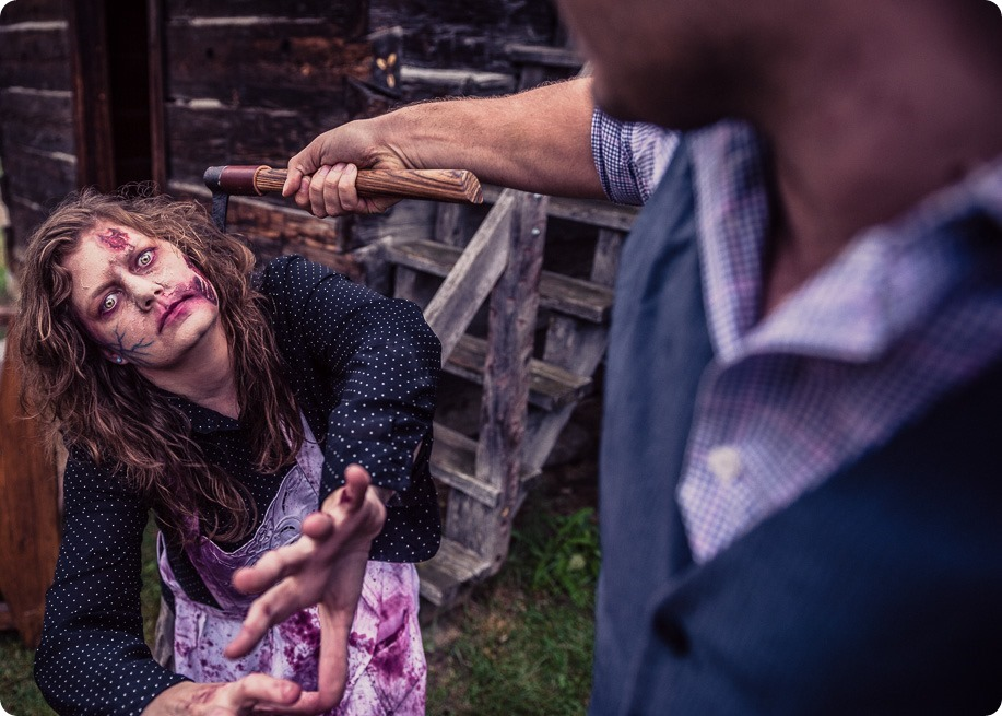Zombie-engagement-session_walking-dead-attack_father-pandosy_Kelowna-photographer_92_by-Kevin-Trowbridge