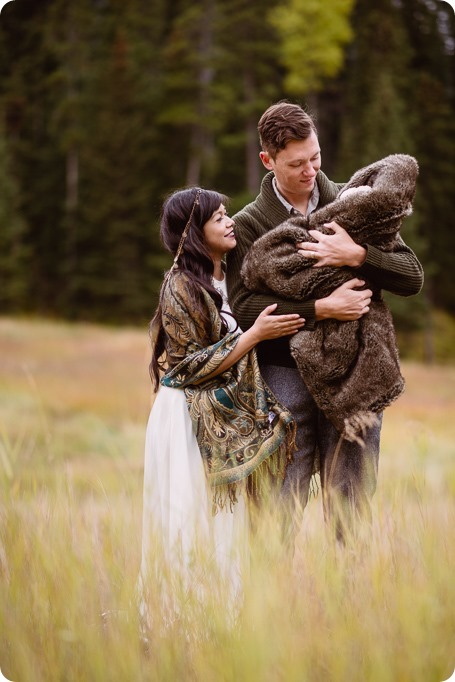 Banff-portraits_moss-forest_Fairmont-bohemian-family-session-newborn_26_by-Kevin-Trowbridge