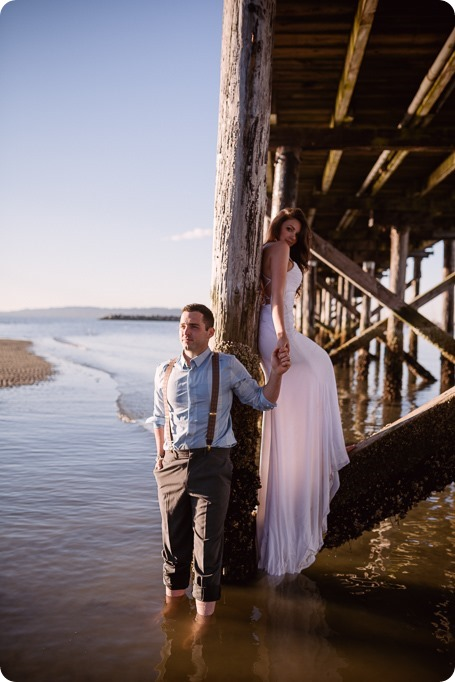 White-Rock-beach_sunrise-portraits_trash-the-dress_bridal-anniversary_102_by-Kevin-Trowbridge