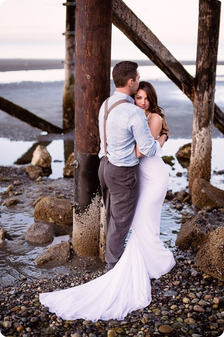 White-Rock-beach_sunrise-portraits_trash-the-dress_bridal-anniversary_24_by-Kevin-Trowbridge