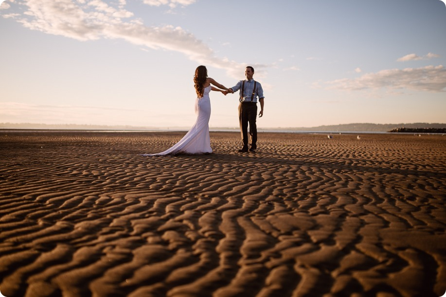 White-Rock-beach_sunrise-portraits_trash-the-dress_bridal-anniversary_39_by-Kevin-Trowbridge