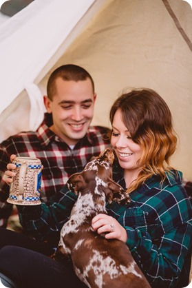 Okanagan-engagement-session_camping-lake-portraits_dog-tent-coffee-campfire_09_by-Kevin-Trowbridge