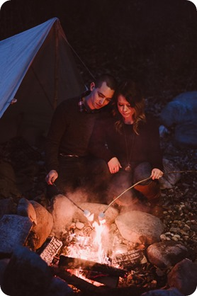 Okanagan-engagement-session_camping-lake-portraits_dog-tent-coffee-campfire_108_by-Kevin-Trowbridge