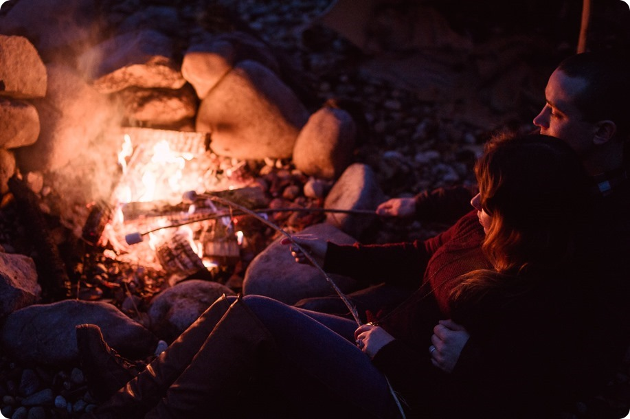 Okanagan-engagement-session_camping-lake-portraits_dog-tent-coffee-campfire_116_by-Kevin-Trowbridge
