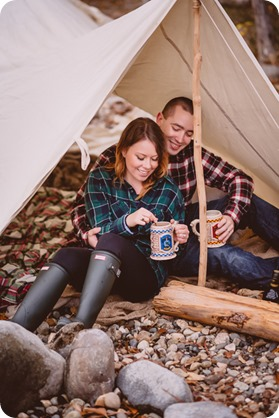 Okanagan-engagement-session_camping-lake-portraits_dog-tent-coffee-campfire_11_by-Kevin-Trowbridge