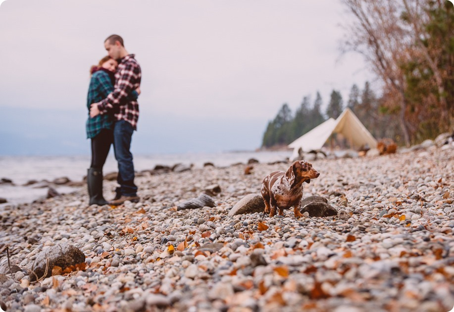 Okanagan-engagement-session_camping-lake-portraits_dog-tent-coffee-campfire_42_by-Kevin-Trowbridge