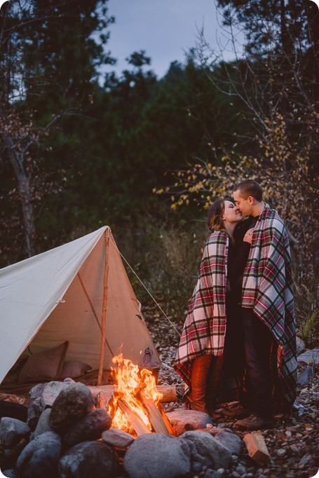 Okanagan-engagement-session_camping-lake-portraits_dog-tent-coffee-campfire_85_by-Kevin-Trowbridge