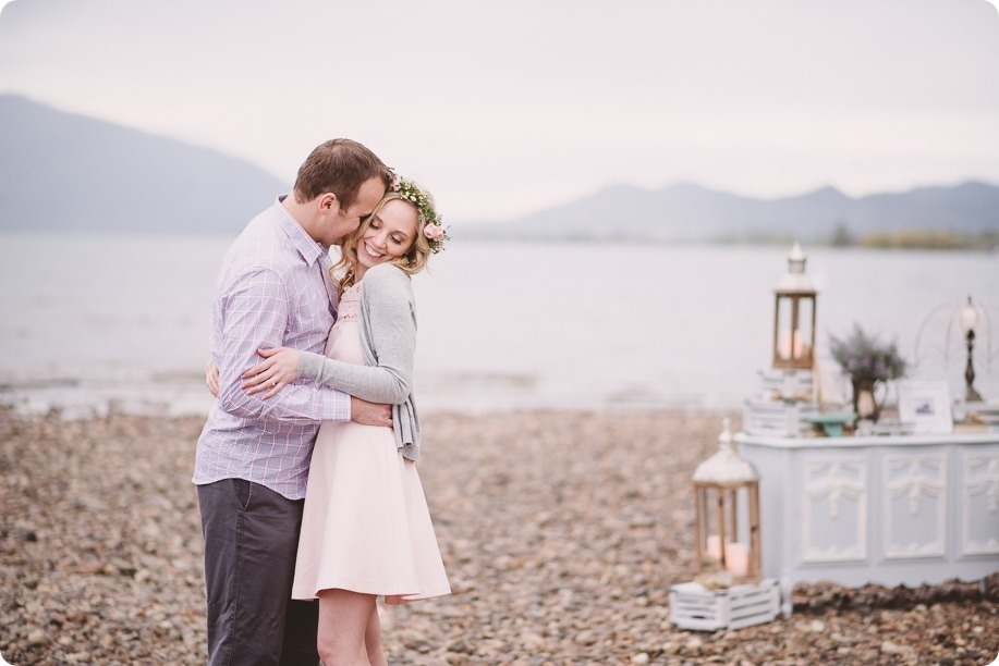 Kelowna-engagement-session_bed-on-the-beach_pillow-fight_lake-portraits_vintage-origami_36_by-Kevin-Trowbridge