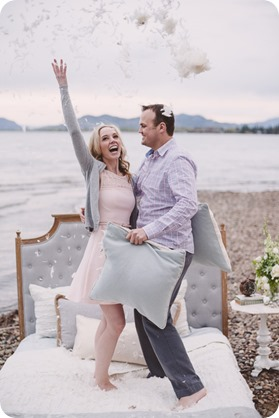 Kelowna-engagement-session_bed-on-the-beach_pillow-fight_lake-portraits_vintage-origami_53_by-Kevin-Trowbridge