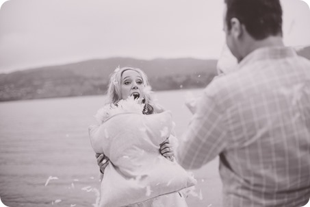 Kelowna-engagement-session_bed-on-the-beach_pillow-fight_lake-portraits_vintage-origami_57_by-Kevin-Trowbridge