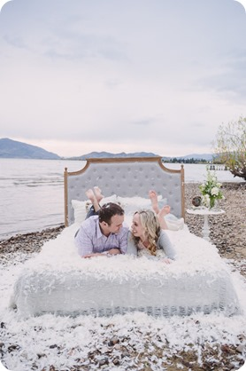 Kelowna-engagement-session_bed-on-the-beach_pillow-fight_lake-portraits_vintage-origami_63_by-Kevin-Trowbridge