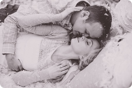 Kelowna-engagement-session_bed-on-the-beach_pillow-fight_lake-portraits_vintage-origami_66_by-Kevin-Trowbridge