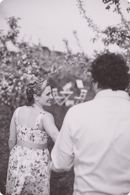 Kelowna-engagement-session_orchard-blossom_croquet-portraits_vintage-floral-dress_11_by-Kevin-Trowbridge