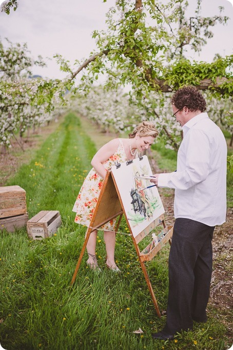 Kelowna-engagement-session_orchard-blossom_croquet-portraits_vintage-floral-dress_24_by-Kevin-Trowbridge