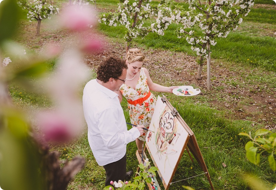 Kelowna-engagement-session_orchard-blossom_croquet-portraits_vintage-floral-dress_32_by-Kevin-Trowbridge