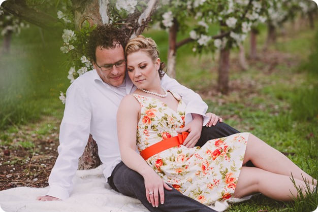 Kelowna-engagement-session_orchard-blossom_croquet-portraits_vintage-floral-dress_37_by-Kevin-Trowbridge