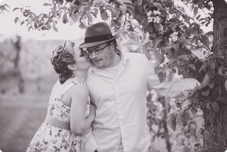 Kelowna-engagement-session_orchard-blossom_croquet-portraits_vintage-floral-dress_41_by-Kevin-Trowbridge