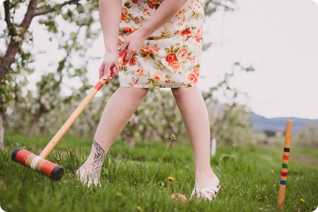 Kelowna-engagement-session_orchard-blossom_croquet-portraits_vintage-floral-dress_60_by-Kevin-Trowbridge