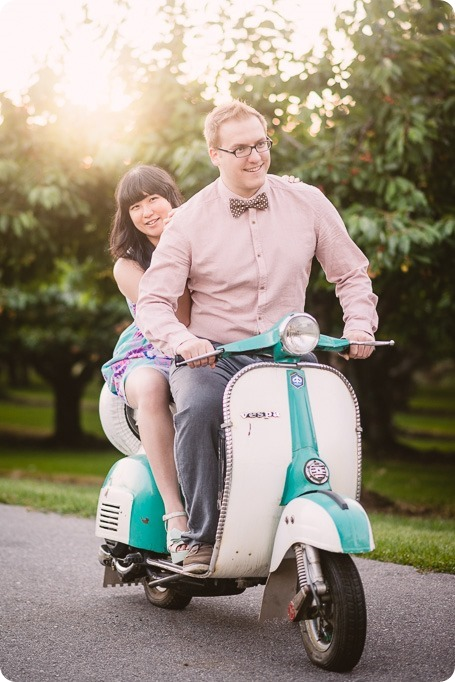 Vespa-engagement-phtoshoot-tea-party_orchard-Kelowna_128_by-Kevin-Trowbridge-photography_Kelowna