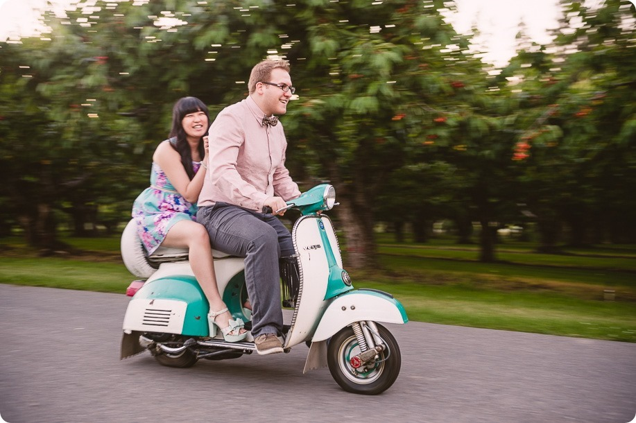 Vespa-engagement-phtoshoot-tea-party_orchard-Kelowna_132_by-Kevin-Trowbridge-photography_Kelowna