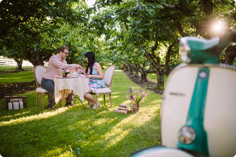 Vespa-engagement-phtoshoot-tea-party_orchard-Kelowna_32_by-Kevin-Trowbridge-photography_Kelowna