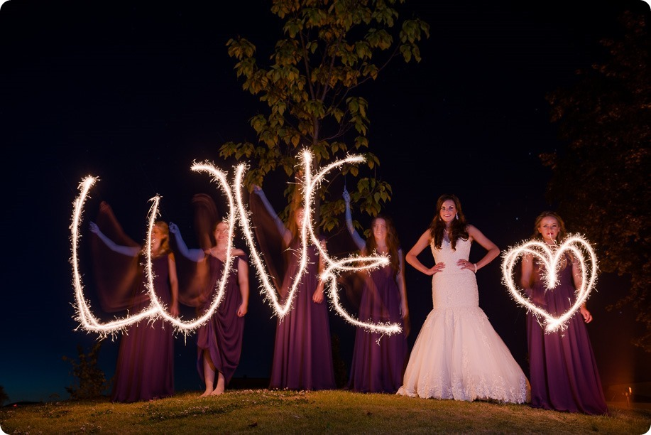 Enderby-wedding_orchard-bridge-sparklers_Okanagan_223157_by-Kevin-Trowbridge